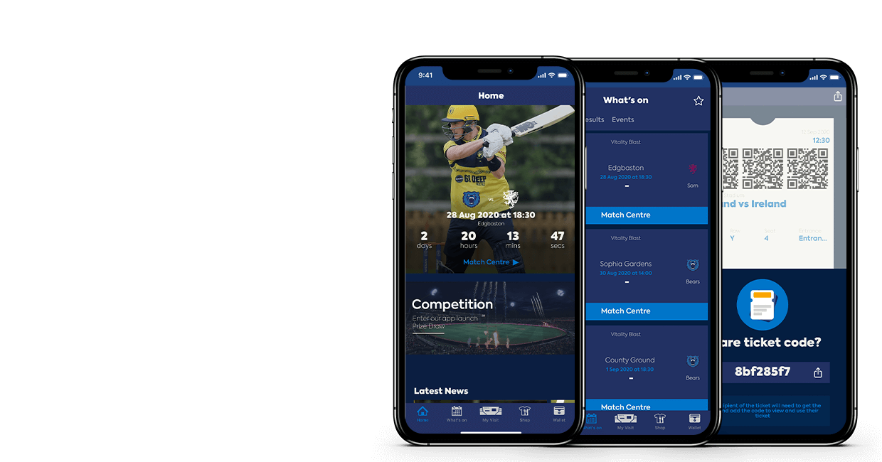 Download the new Edgbaston App on iOS and Android