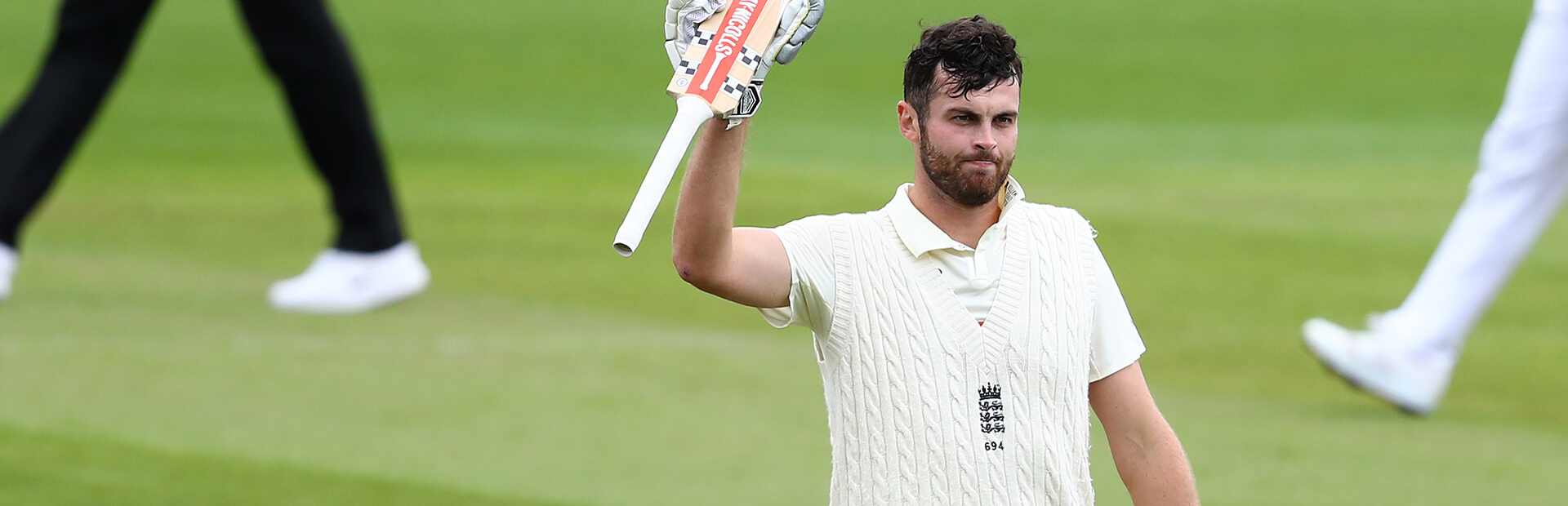 Sibley named in Wisden Cricketers' of the Year